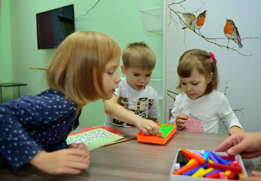 дети математика в 3 года