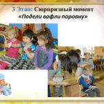 Сюрпризный момент: детям дали вафли