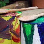 Цветные барабаны