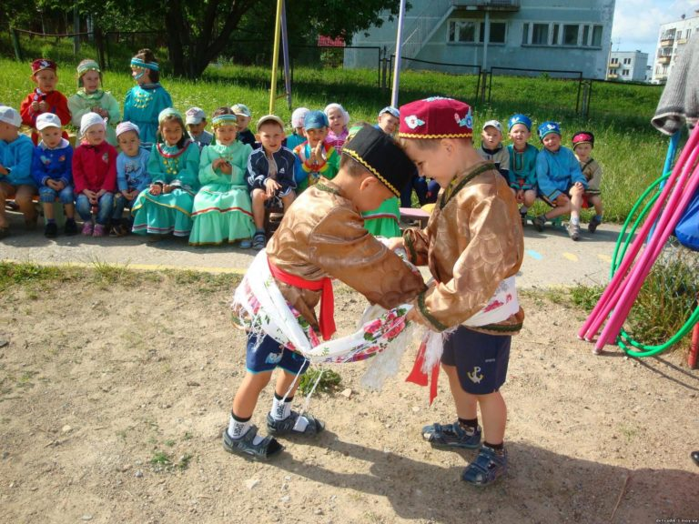 Народные игры для детей в детском саду