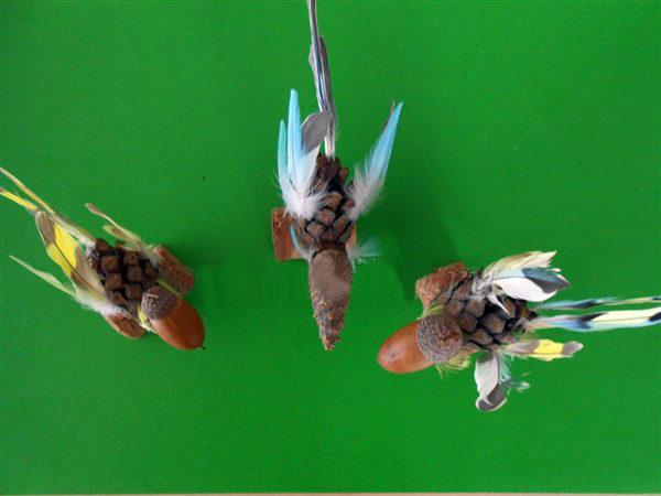 Фигурки птичек (поделки)