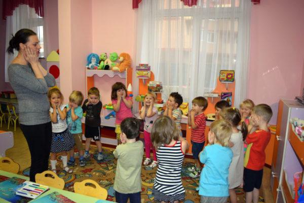 Физкультминутка в детском саду