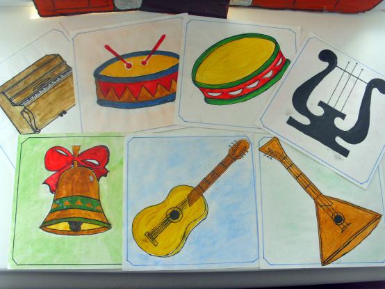Карточки с инструментами