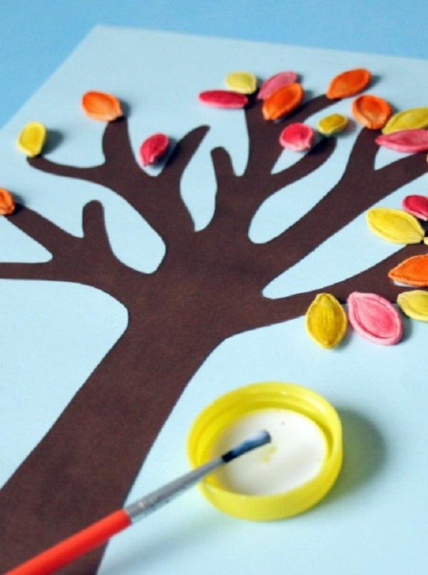 Поделки из семечек своими руками для детей в детский сад 91