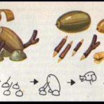 Щенок (схема поделки)