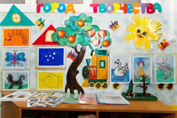 Выставка детских работ (рисунков, поделок)