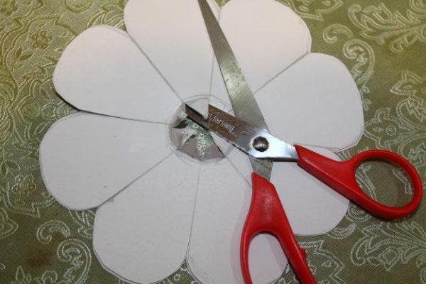 Заготовка для бумажного цветка