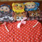 Платковые куклы на платье