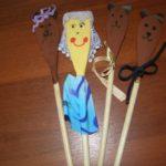 Куклы на деревянных ложках