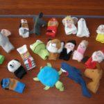 Куклы пальчикового театра
