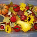 Осенняя сенсорная коробка