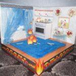 Пожар дома
