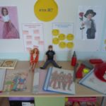 Гендерный уголок: куклы и фото мальчиков и девочек