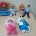 Гендерный уголок: куклы-мальчики и куклы-девочки