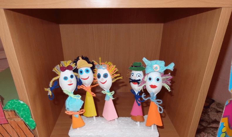 Театр на ложках в детском саду своими руками фото 100