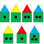 Задание на логику «Домики»