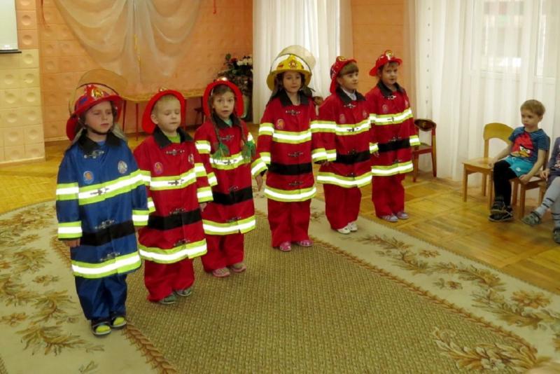 Знание пожарной безопасности поможет дошкольникам правильно повести себя в экстремальной ситуации