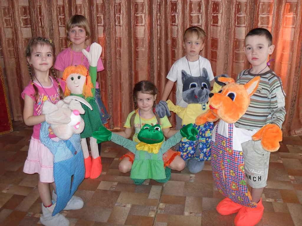 Как сделать куклу для детского сада 250