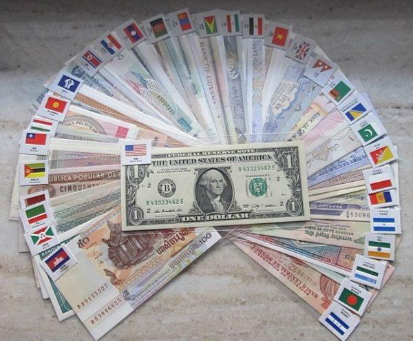 Валюта разных стран