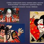 Маски актёров японского театра