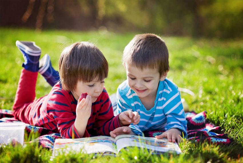 дети учат буквы