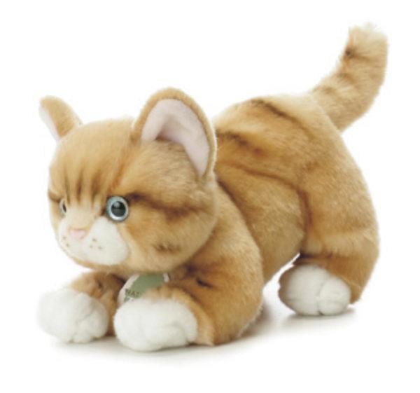 Игрушечный котёнок