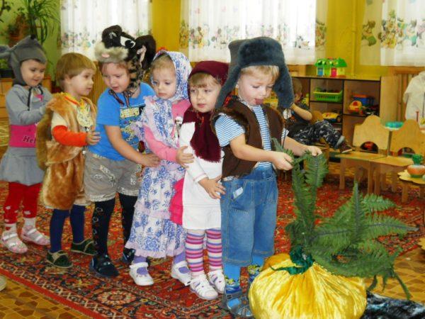 Инсценировка сказки «Репка» в детском саду