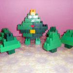 Лес из Лего-конструктора