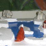 Макет Арктики