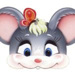 Заготовка для маски мышонка