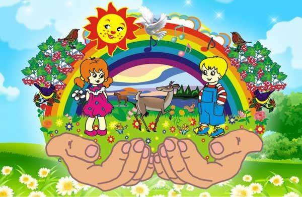Пример плаката для оформления экологического уголка