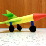 Объёмный самолёт из бумаги