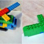 Самолёт и вертолёт из Лего-конструктора