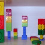 Светофоры, выполненные из различных конструкторов