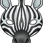 Заготовка для маски зебры