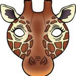 Заготовка для маски жирафа