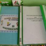 Материалы по экспериментированию в ДОУ, оформленные в папки