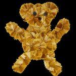 Медвежонок из карандашной стружки