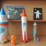 Поделки космических ракет из бумаги