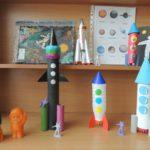 Поделки ракет из бумаги