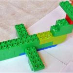 Самолёт из конструктора LEGO