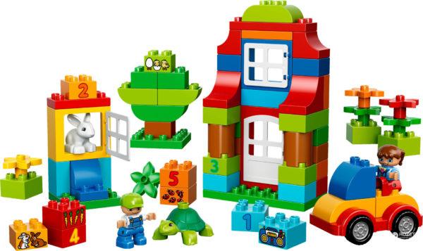 Постройки из конструктора Lego Duplo