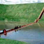 Пешеходный «Мост Моисея» в Голландии