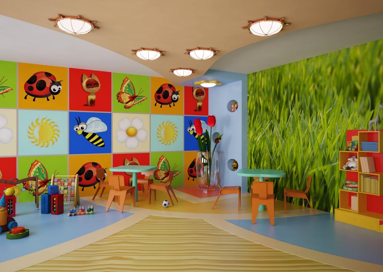 Оформление игровой комнаты в детском саду фото своими руками