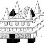 Примерный план здания из строительного набора
