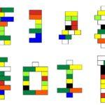 Простые схемы фигурок из конструктора «Лего»