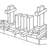 Схема корабля из строительного набора