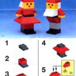 Схема сборки гномов из конструктора «Лего»