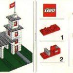 Схема сборки пожарной машины из конструктора «Лего»