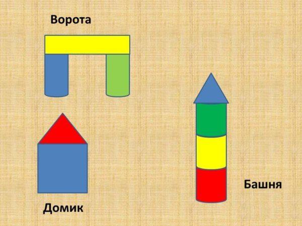 Схемы для создания построек из строительного материала